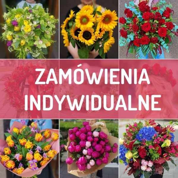 Zamówienia indywidualne Poczty Kiwatowej z dostawą kwiatów