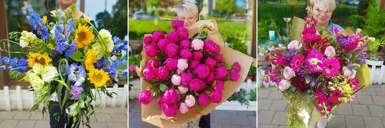 Poczta Kwiatowa Kiwatem Malowane - Bukiety kwiatów